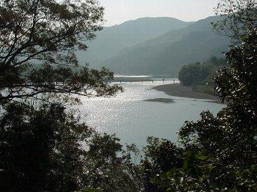四万十市:今成(佐田)沈下橋